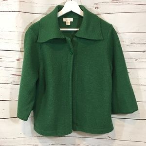 One Button Collared Cardigan  Christopher & Banks